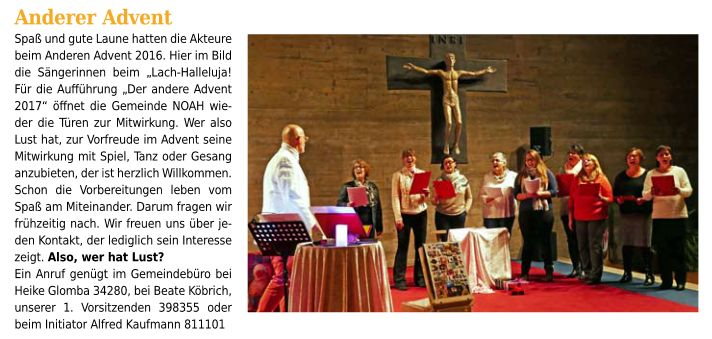 der andere advent